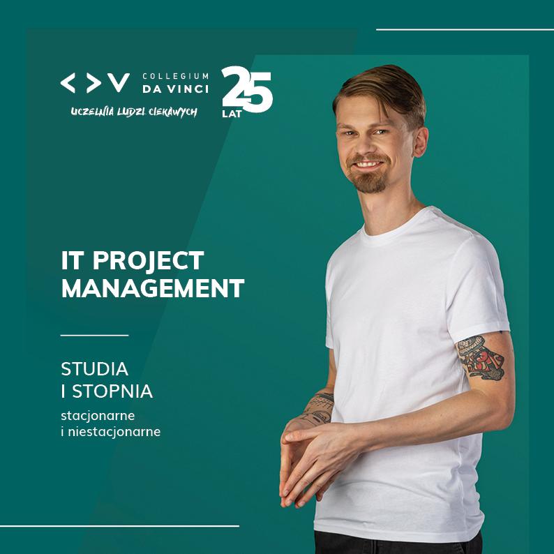 Folder kierunku IT Project Management – informatyczne techniki zarządzania
